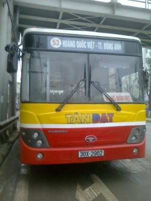 xe bus 53 hà nội